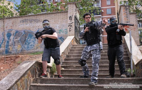 Sesion Airsoft (Umbrella) 01 by Magneto24es