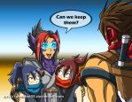 New Recruits by punkbot08