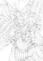 Angelic Fates (Lines) by Vaporeon249