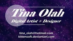 Business Card in SPACE...Ep.2 by Kittensoft