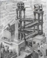 copy of Escher's Waterfall by mcaethad