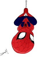 Chibi Spiderman by ninammm1