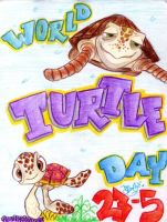 world turtle day by PoOkiePix