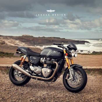 Thruxton Speed Triple by Jakusa1