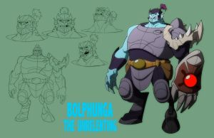 GL: BOLPHUNGA THE UNRELENTING by Jerome-K-Moore