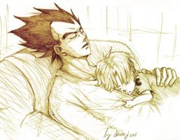 Daddy goodnight by Sanzo-Sinclaire