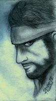 SOLID SNAKE by renchmaverick