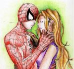 Spider Man and MJ by Fayerin