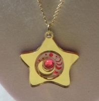 STAR LOCKET Sailor Moon Necklace/Pendant Laser Cut by MercuryHenshin