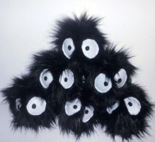 Soot Sprites by Sophillia