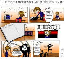 Michael Jackson's death by KimReno