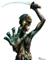 CIVAL WAR ZOMBIE by twistedmentality