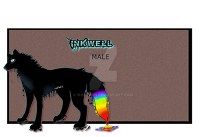 Inkwell ref sheet by Wolfvids
