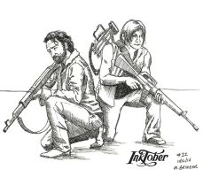 Inktober 2014 Drawing 12 by martianpictures