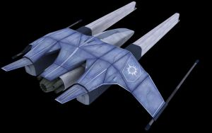Attack Frigate Textured by Syklon