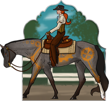 Steampunk Festival - Western Pleasure by mule-deer