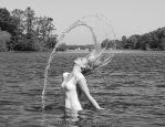 playing with the water by MT-Photografien
