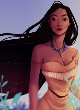 Pocahontas by Wernope