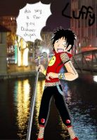Singer Luffy - For Dichana by Sakuya-Masamune