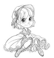 Its a chibi sketch - most exciting title by littledigits