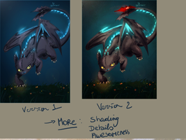 Toothless V2 W.i.P by DrossLoveYaoi