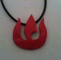 Fire Nation Pendant by Xaphriel
