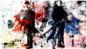 DmC (Devil May Cry) Jackpot!!! by Cl0ud24