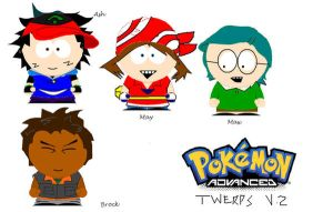 Pokemon, south Park style 2 by Robotgirl101