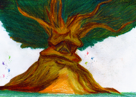 Great Deku Tree by Lythiia