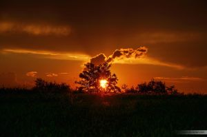 Burning Sun II by Yoven