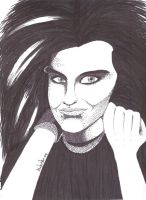 Bill Kaulitz -Stipple- by IisLARRY