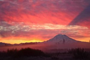 Mt. Rainier by jeruley