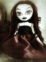 Annabelle Gothic Doll by Moodyvoodies
