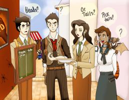 Legend of Korra Cast in Columbia by LenLe92