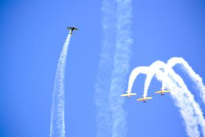 Aerobatic Yakers 2 by bibiwannafly