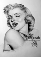 Marilyn Monroe by GeeFreak