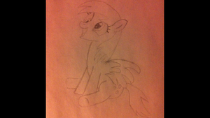 My Little Sketch of Derpy Hooves by LegoGuy87