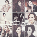 Demi Lovato Collage 2.0 by Orange-FeatherCanary