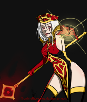 WoW_High Inquisitor Whitemane by Roshi-Aho-sama