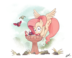 Bird Tea Party by DocWario
