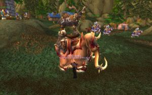 Stag travel form on a Mount by Casazil