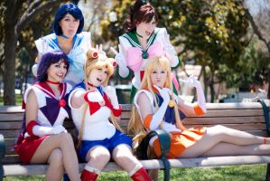 Sailor BFFs by Callesto