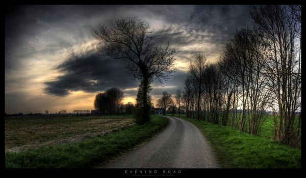 Evening Road by gabba74