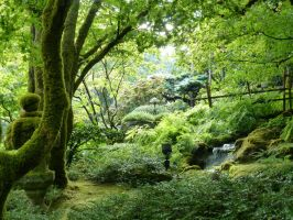 Japanese Garden 6 by raindroppe