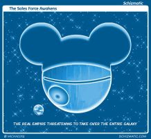 The Sales Force Awakens by schizmatic