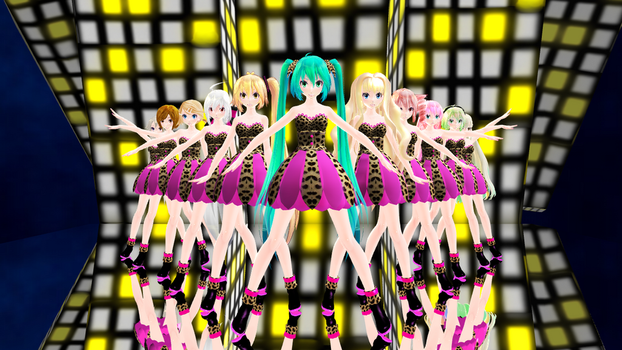 [MMD] Help Me ~ ...loid Girls MV by Reineru-kun