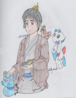 APH - Japan and his Pokemon Friends by SwiftNinja91