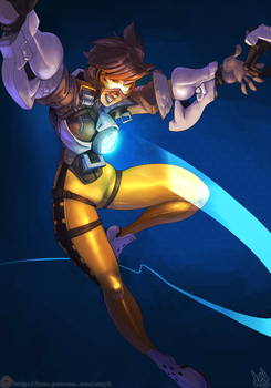 Overwatch - Tracer by atryl