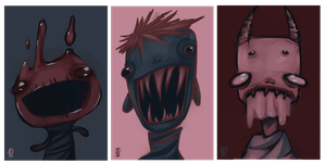 Monsters. by MentalParasite
