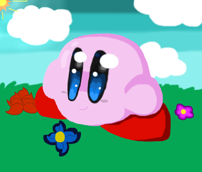 its just the kirb by Bubble-Bash